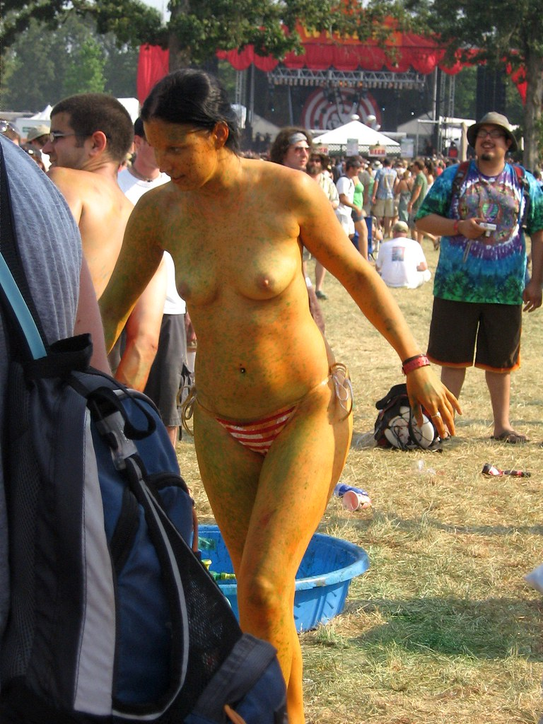 Bonnaroo Body Paint Body Painting Bonnaroo 2007