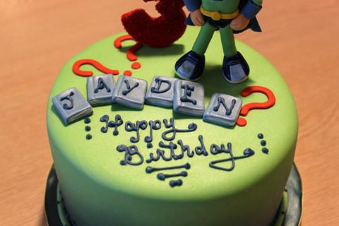 Super Why Birthday Cake Super Why Themed 3rd Birthday