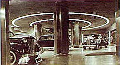 Chrysler Building Car Showroom