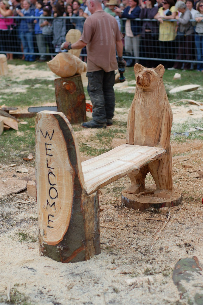 Chainsaw carving tatton park speed this is the