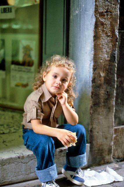 Little Italian Girl Ca 1981 Little Italian Girl