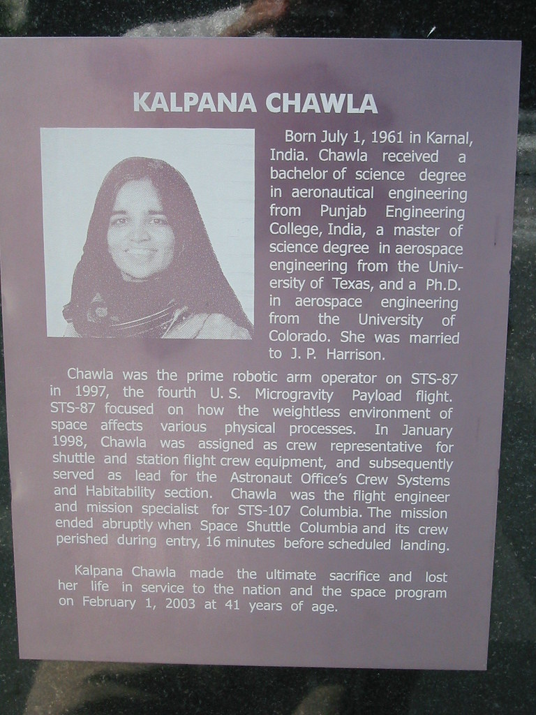 essay kalpana chawla english Early life kalpana chawla was born in a punjabi hindu family at karnal,  kalpana has two sisters (sunita & deepa) and a brother  haven't found the essay you want.