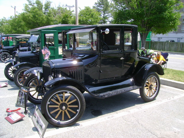 1924 Ford Model T Coupe Maryland Motor Vehicle
