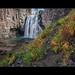 Rainbow Falls in Fall