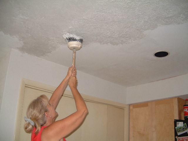 Jj stomps ceiling texture for knockdown