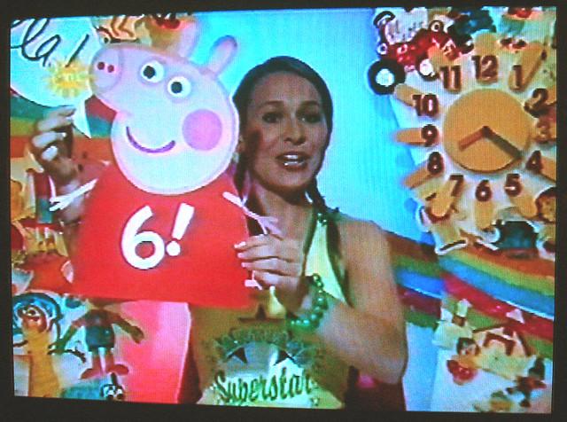 Ellas peppa pig birthday card makes it on to tv the card flickr by dan morelle ellas peppa pig birthday card makes it on to tv by dan morelle bookmarktalkfo Images
