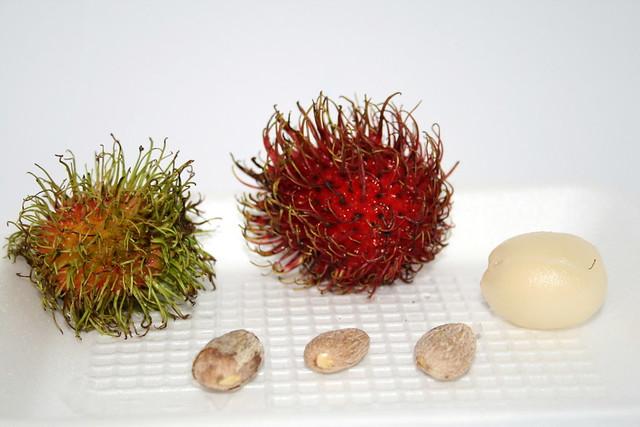 Rambutan Nephelium Lappaceum Rambutan Fruit Inner