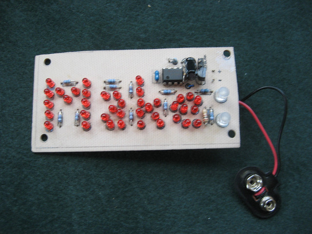 how to make led sign board at home