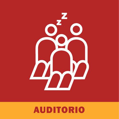 Señalética: auditorio | Señaletica usada para el 3° Salón ...