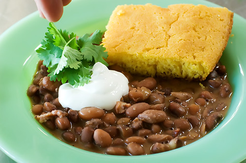 porch beans cornbread 119 | by Ree Drummond / The Pioneer Woman