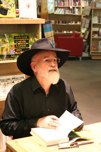 Terry Pratchett, Powell's | by firepile