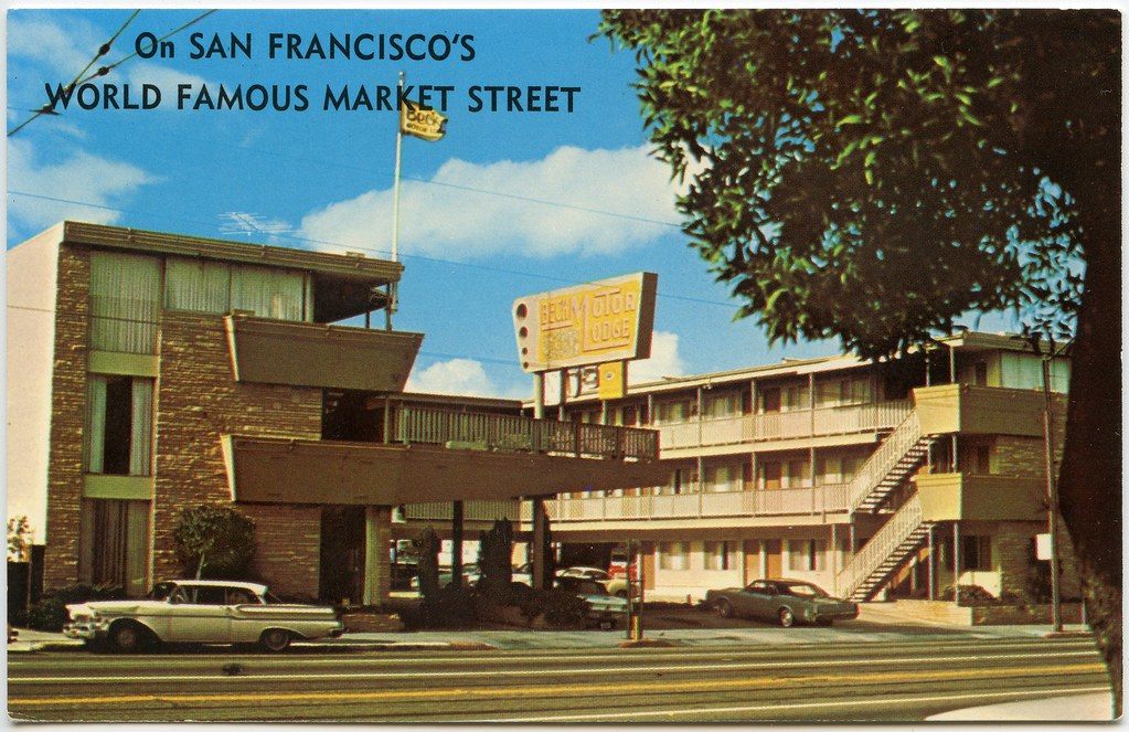 beck 39 s motor lodge on san francisco 39 s world famous market On motor lodge san francisco