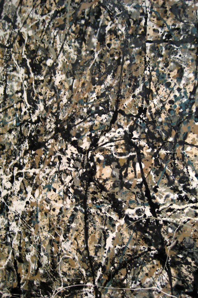 Nyc Moma Jackson Pollock S One Number 31 1950
