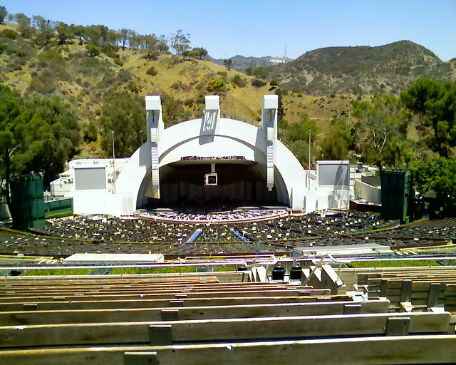 Hollywood bowl our seats for rufus wainright for Terrace 2 hollywood bowl