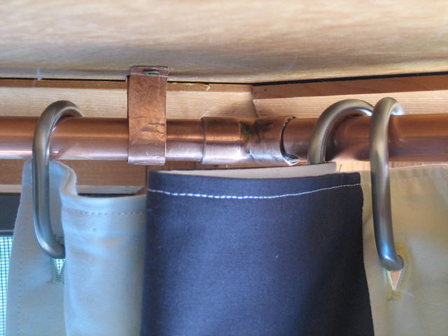 copper curtain rod we couldn 39 t really find something we