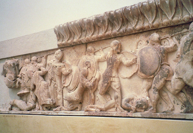 Siphnian Treasury N Frieze Gods Vs Giants Siphnian