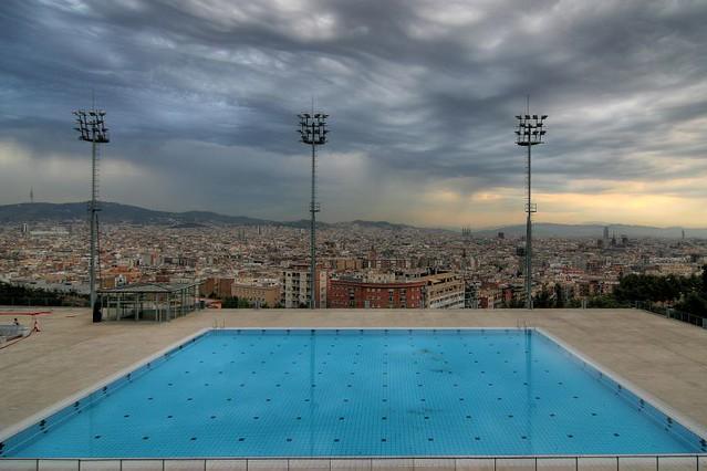 Piscina municipal es la piscina municipal de barcelona flickr - Piscina en barcelona ...