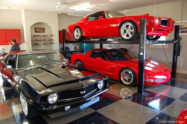 Sports Cars In Garage Credits Photographer Unknown If Y Flickr - Sports cars garage