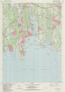 Niantic Quadrangle 1983 - USGS Topographic Map 1:24,000 | by uconnlibrariesmagic