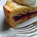 not-just-for-thanksgiving cranberry shortbread cake