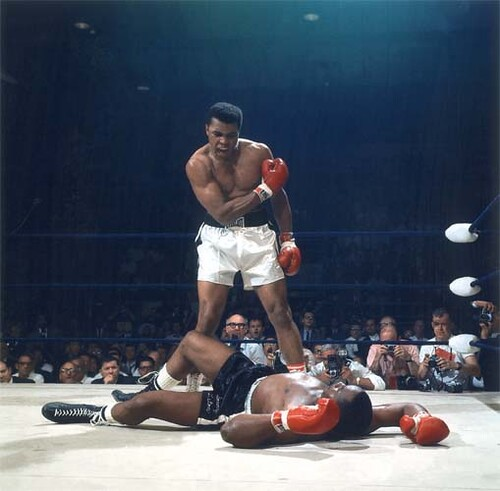 ali vs liston coloring pages - photo#6