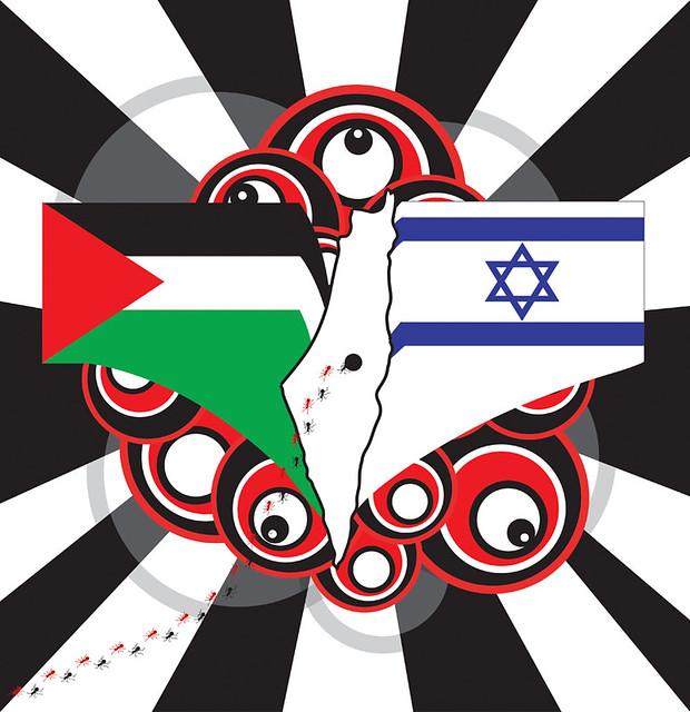 Palestina/Israel conflicts | Katedra magazine headline illus… | Flickr