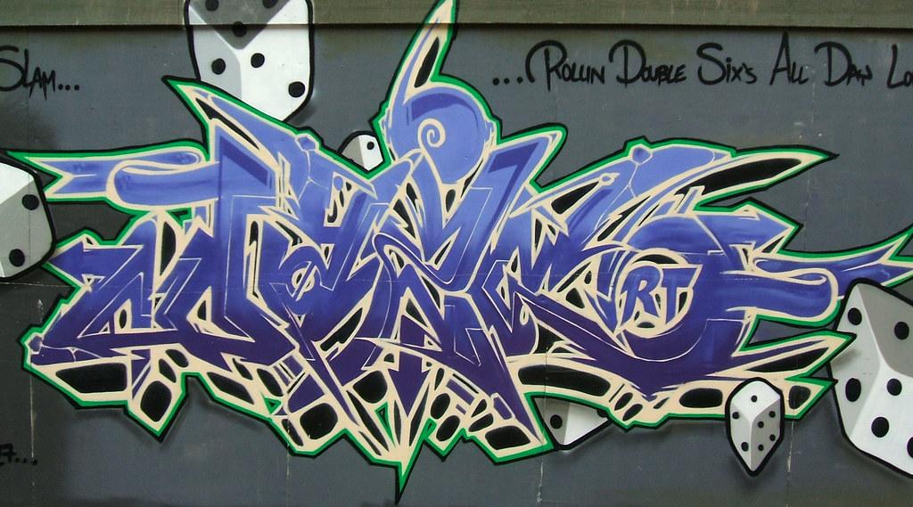 Graffiti Art Graffiti Art Painted On Construction Site