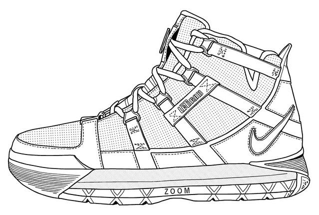 shoe outline template pdf air jordans nike