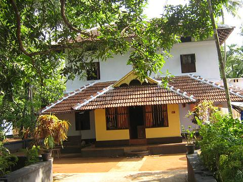 Traditional house at kerala state india photo by n g nir for Traditional home images