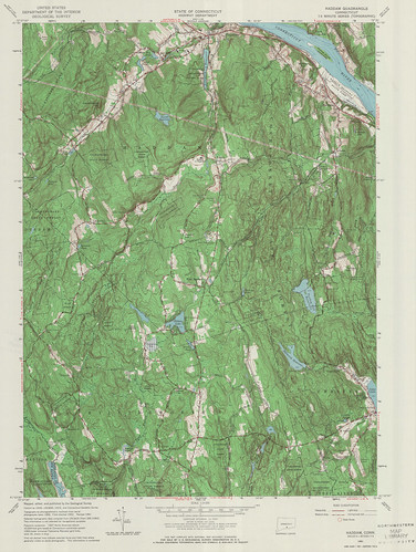 Haddam Quadrangle 1961 - USGS Topographic 1:24,000 | by uconnlibrariesmagic