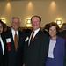 Rush with community sponsors at 2006 Leadership Dinner