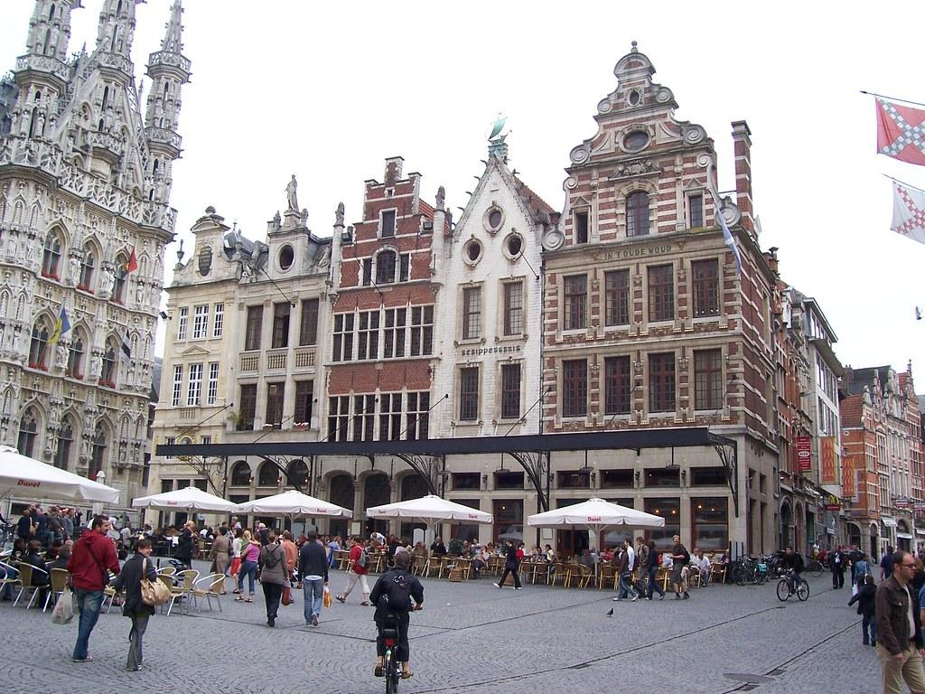 Leuven Belgium  city pictures gallery : Leuven Grote Markt Leuven, Belgium