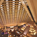 View of the inside of the pyramid at the Luxor Hotel, Las Vegas