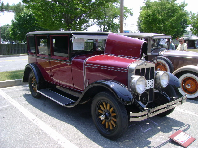 1927 Franklin 11b Maryland Motor Vehicle Administration