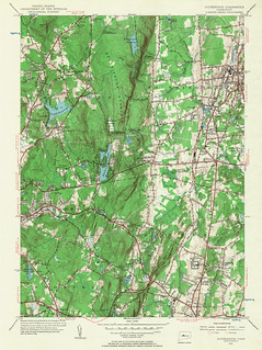 Southington Quadrangle 1955 - USGS Topographic Map 1:24,000 | by uconnlibrariesmagic