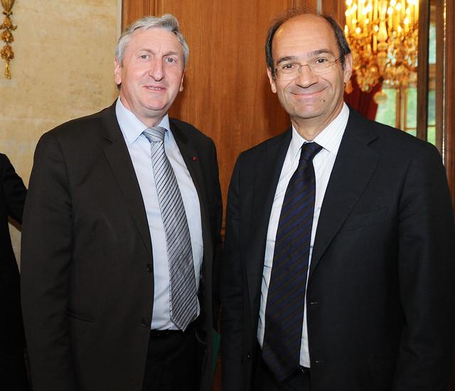 Eric Woerth: Rencontre Entre Eric Woerth Et Jean-Michel Lemétayer
