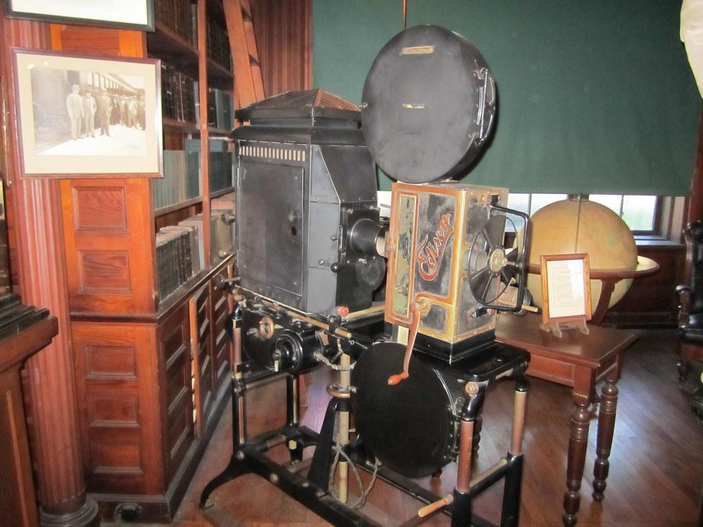 Thomas Edison Nhp Movie Projector Bruce Johnson Flickr