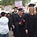 Students Walking Into Graduation Ceremony