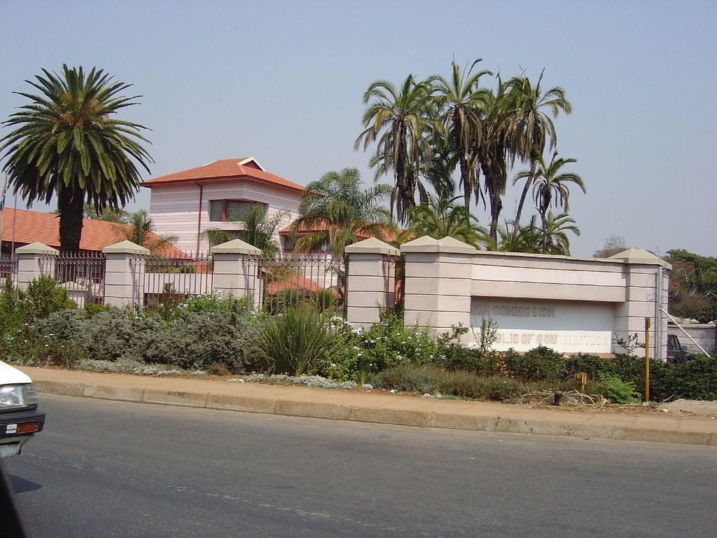 Zimbabwe Harare South African Embassy | Gary Bembridge ...