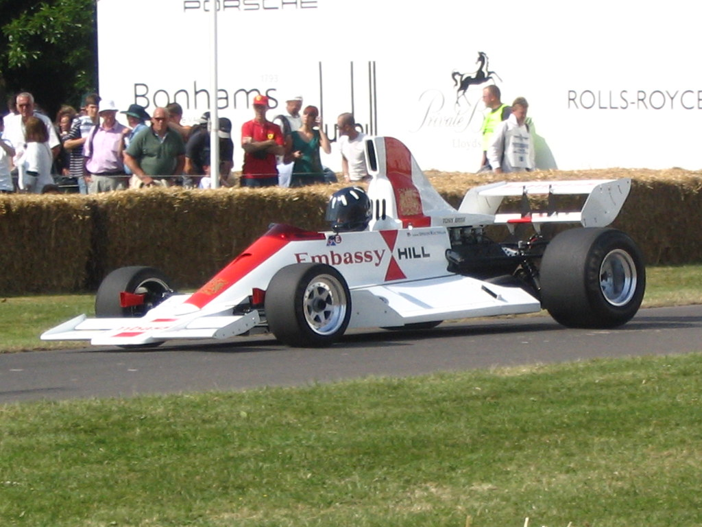 Festival Of Speed >> Embassy Hill GH2 driven by Damon Hill | 1996 Formula One Wor… | Flickr