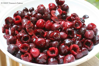 Pitted Cherries Ready To Be Made Into Pie Filling | by Dianne's Dishes