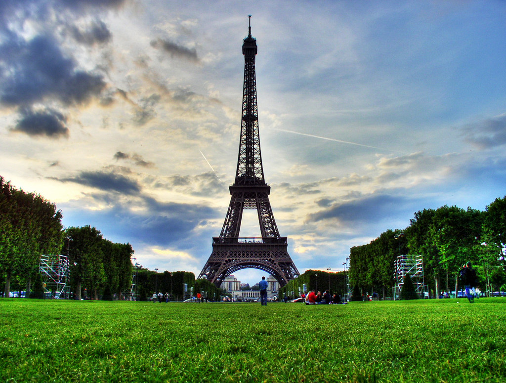 tour eiffel hdr eiffel tower paris note you are free flickr. Black Bedroom Furniture Sets. Home Design Ideas