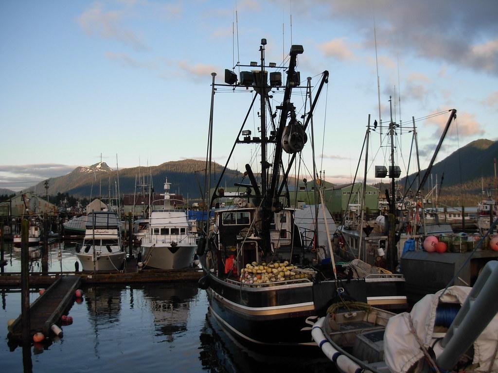Fishing boats petersburg alaska harbor brewbooks flickr for Petersburg alaska fishing