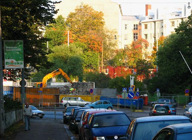 Calle en Helsinki