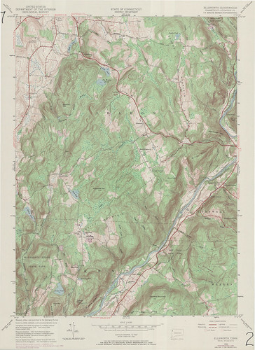 Ellsworth Quadrangle 1969 - USGS Topographic 1:24,000 | by uconnlibrariesmagic