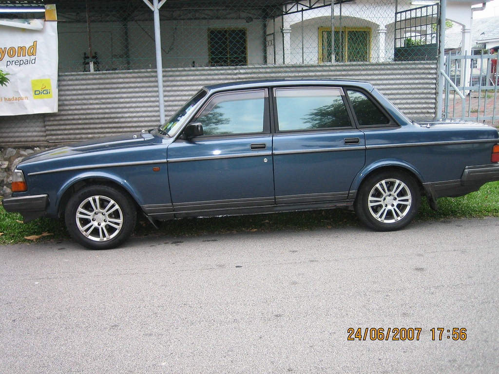 My Volvo 240 15 Inch Rims That S Transfer From My 740