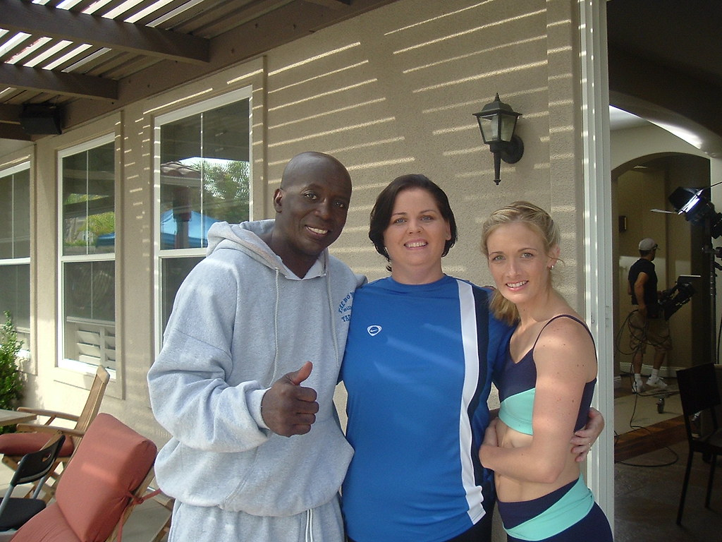 Billy Blanks, Dawn and Shellie Blanks | This is me and ...