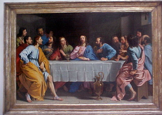 the last supper in the louvre the 1648 painting of quotthe