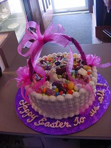 Basket Cake Images