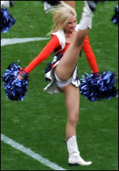 Denver Broncos Cheerleader. | by Jeffrey Beall
